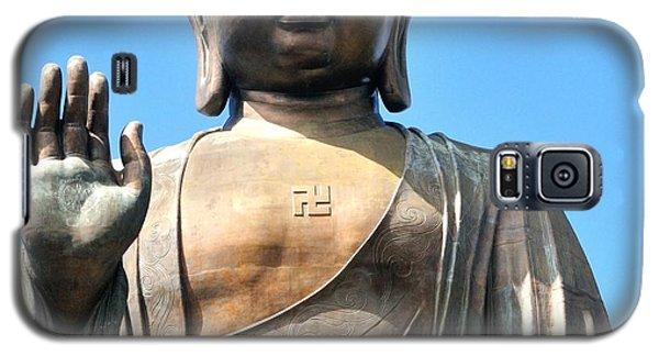 Tian Tan Buddha Galaxy S5 Case by Joe  Ng