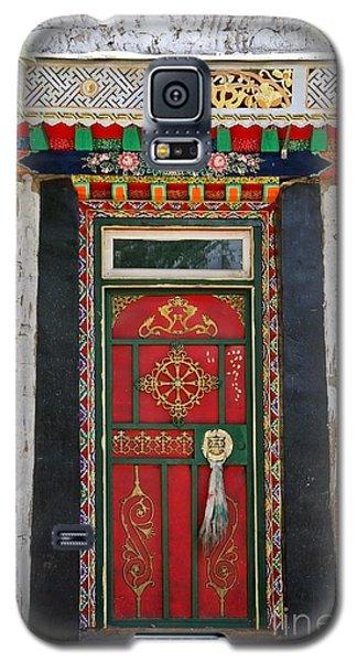 Tibet Red Door Galaxy S5 Case