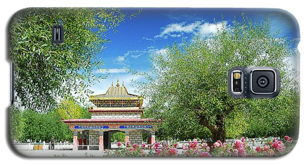 Tibet Scenery In Autumn Galaxy S5 Case