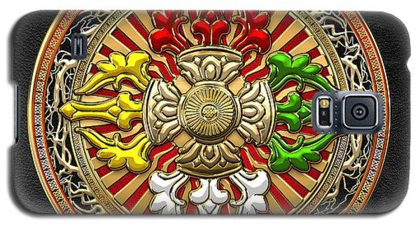 Religious Galaxy S5 Case - Tibetan Double Dorje Mandala by Serge Averbukh