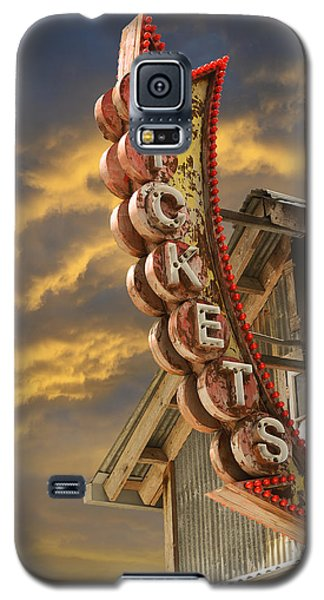 Galaxy S5 Case featuring the photograph Tickets  by Laura Fasulo