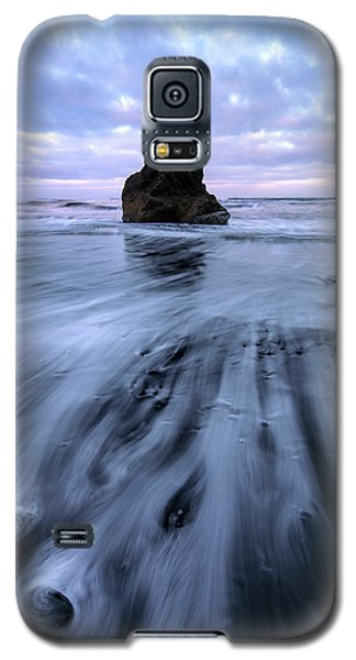 Galaxy S5 Case featuring the photograph Tidal Dance II by Mike Lang