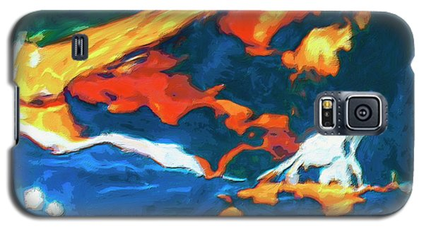 Galaxy S5 Case featuring the painting Tidal Forces by Dominic Piperata