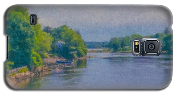Tidal Inlet In Southern Maine Galaxy S5 Case