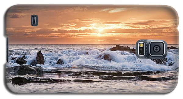 Tidal Sunset Galaxy S5 Case by Heather Applegate