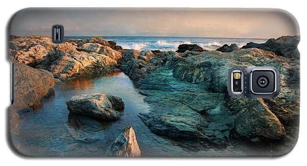 Galaxy S5 Case featuring the photograph Tide Pool by Robin-Lee Vieira