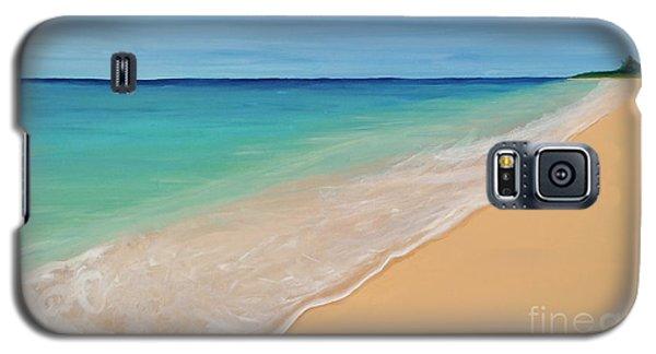Tide Washing In Galaxy S5 Case