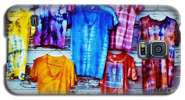 Grateful Dead Tie Dye Galaxy S5 Case by Susan Carella