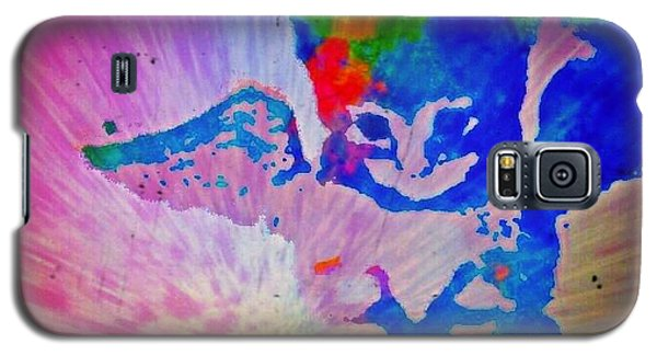 Tie Dye Tiger Galaxy S5 Case