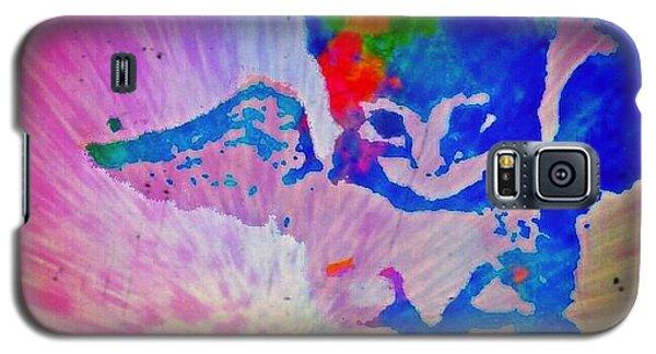 Tie Dye Tiger Galaxy S5 Case