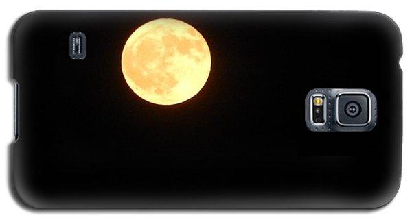 Tie Dyed Orange Moon Galaxy S5 Case