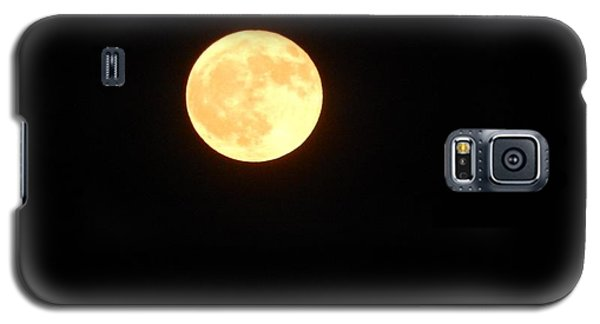 Tie Dyed Orange Moon Galaxy S5 Case
