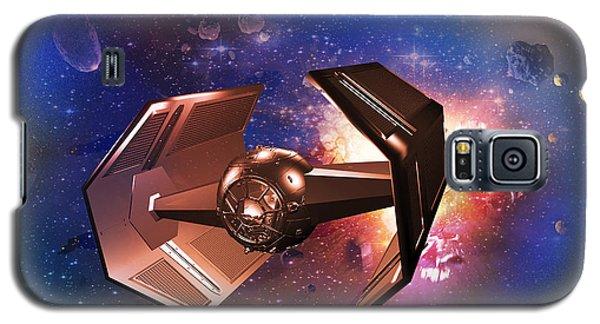 Tie-fighter Galaxy S5 Case by Mickey Clausen
