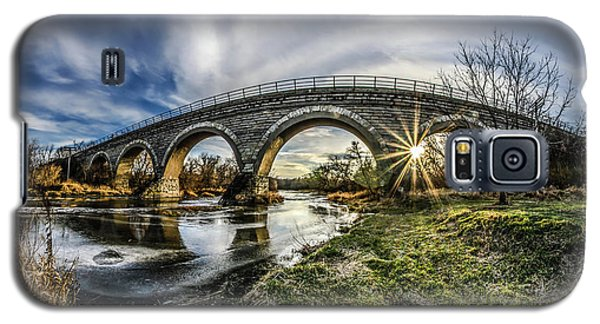 Tiffany Bridge Panorama Galaxy S5 Case