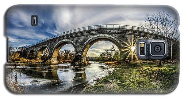 Tiffany Bridge Panorama Galaxy S5 Case