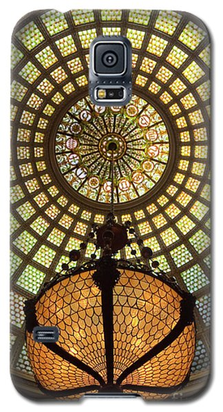 Tiffany Ceiling In The Chicago Cultural Center Galaxy S5 Case