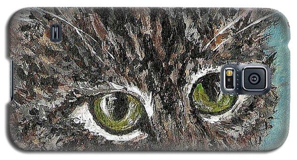 Tiger Cat Galaxy S5 Case