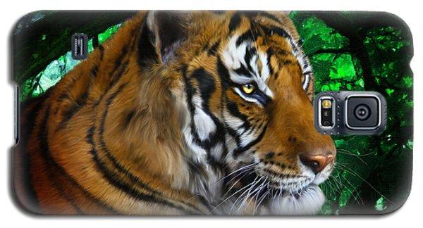 Tiger Contemplation Galaxy S5 Case