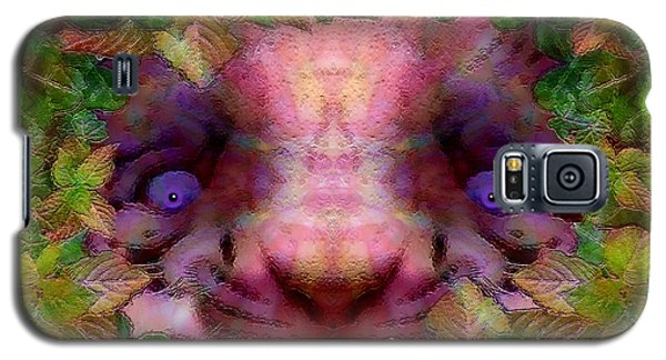 Galaxy S5 Case featuring the photograph Tiger Cub by Barbara Tristan