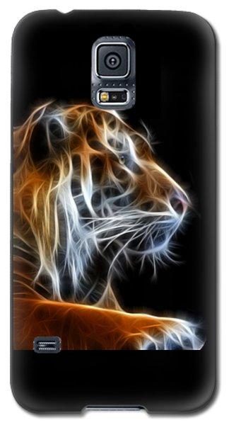 Tiger Fractal 2 Galaxy S5 Case by Shane Bechler