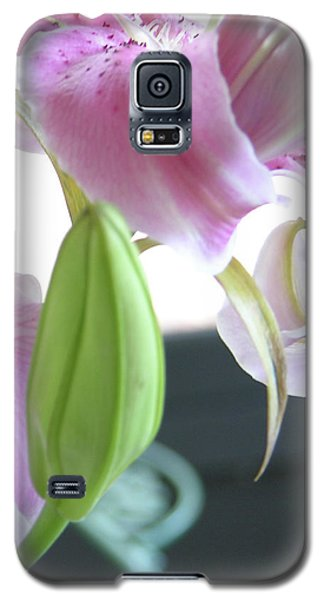 Tiger Lily Bud Galaxy S5 Case