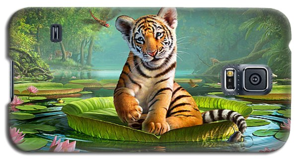Tiger Lily Galaxy S5 Case by Jerry LoFaro