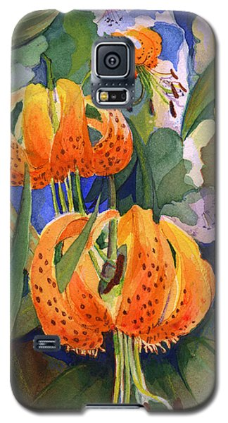 Tiger Lily Parachutes Galaxy S5 Case