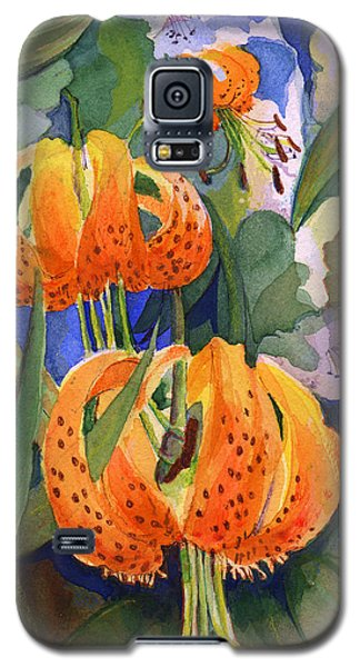 Tiger Lily Parachutes Galaxy S5 Case