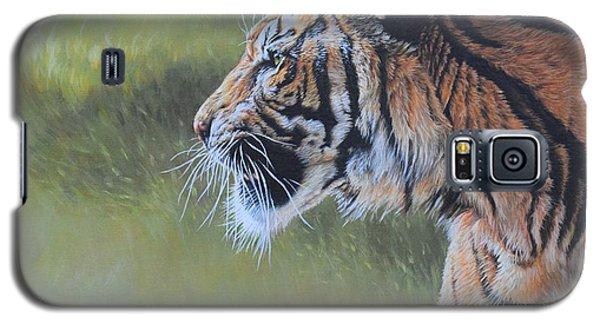 Tiger Portrait Galaxy S5 Case