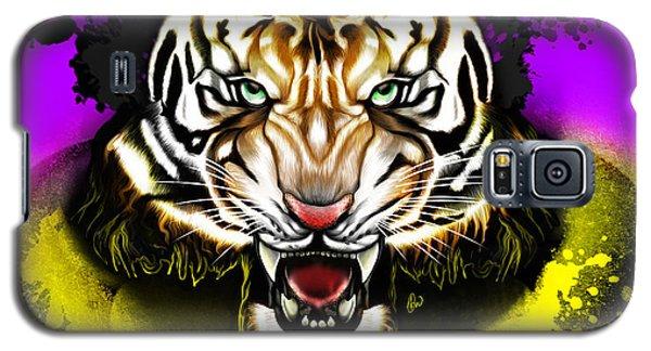 Galaxy S5 Case featuring the digital art Tiger Rag by AC Williams