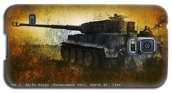 Galaxy S5 Case featuring the digital art Tiger Tank by John Wills
