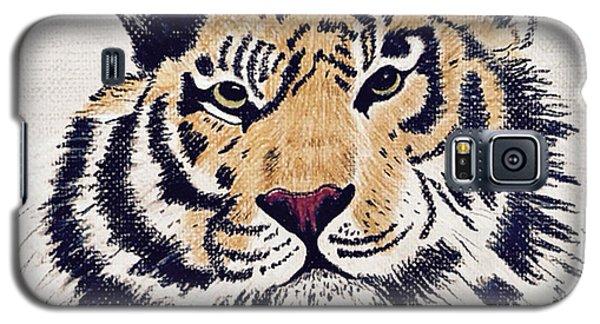 Tiger Tiger Burning Bright Galaxy S5 Case