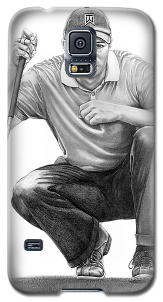Tiger Woods Crouching Tiger Galaxy S5 Case
