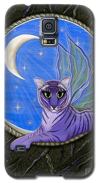 Tigerpixie Purple Tiger Fairy Galaxy S5 Case