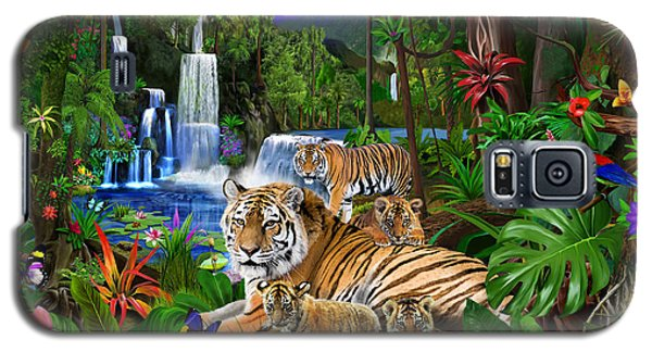 Tigers Of The Forest Galaxy S5 Case
