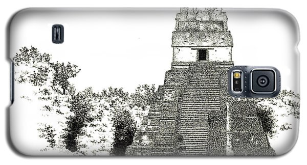 Tikal Temple I Galaxy S5 Case