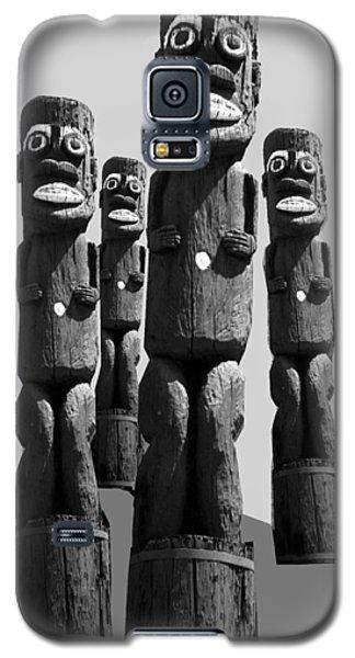 Tiki Invasion Galaxy S5 Case by Matthew Bamberg