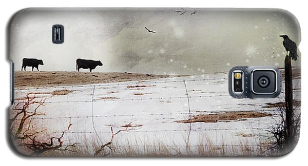 'til The Cows Come Home Galaxy S5 Case by Theresa Tahara
