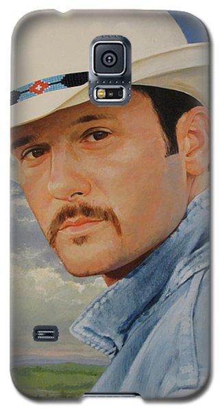 Tim Mcgraw Galaxy S5 Case
