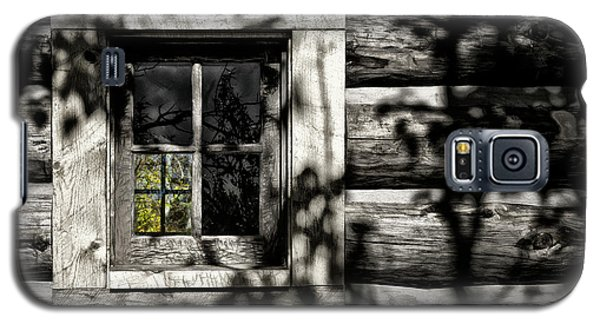 Galaxy S5 Case featuring the photograph Timber Hand-crafted by Brad Allen Fine Art