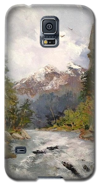 Timberlands Galaxy S5 Case by Helen Harris