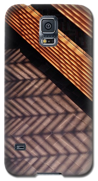 Time And Materials Galaxy S5 Case by Rona Black