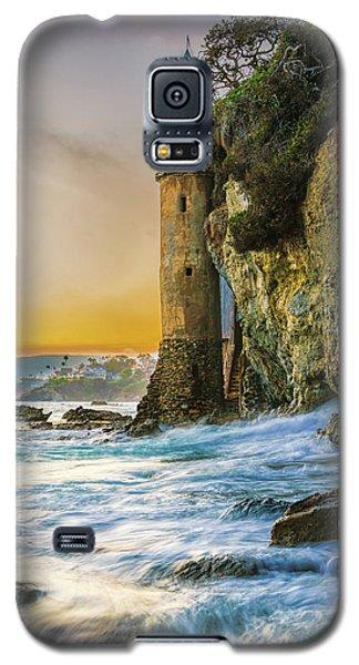 Time Flows I Wait Galaxy S5 Case