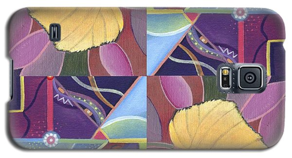 Time Goes By - The Joy Of Design Series Arrangement Galaxy S5 Case by Helena Tiainen