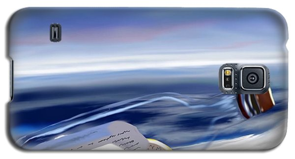 Time In A Bottle Galaxy S5 Case