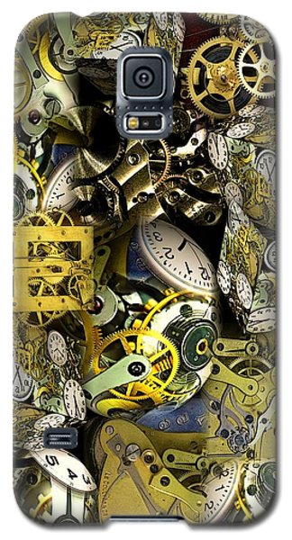 Time Is Stacking Up Galaxy S5 Case by Ron Bissett