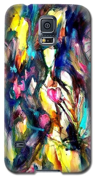 Time Love Heart Galaxy S5 Case