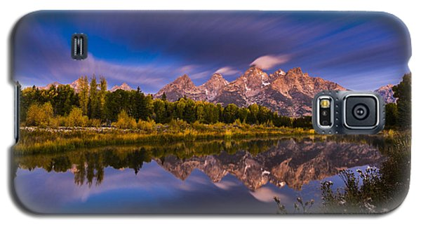 Time Stops Over Tetons Galaxy S5 Case
