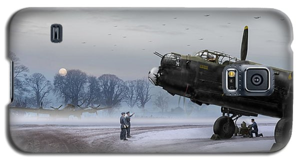 Time To Go - Lancasters On Dispersal Galaxy S5 Case