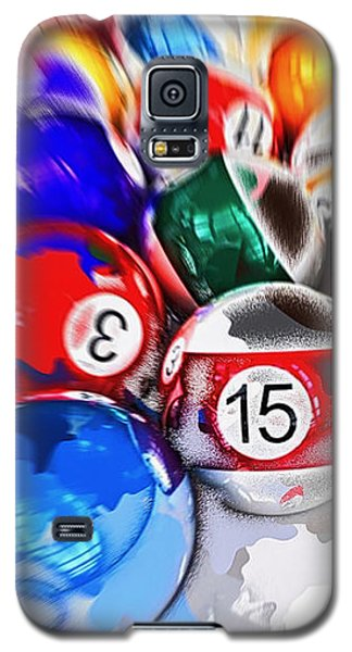 Time To Play Hard Ball White Galaxy S5 Case